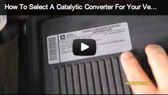 This video provides a great overview of the type of converter to select for your specific vehicle: UNIVERSAL or DIRECT-FIT, the difference between 49-STATE & CALIFORNIA Converters & the correct GRADE of product you will require depending upon your application.