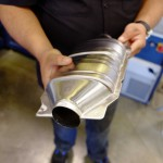 Assembled Catalytic Converter