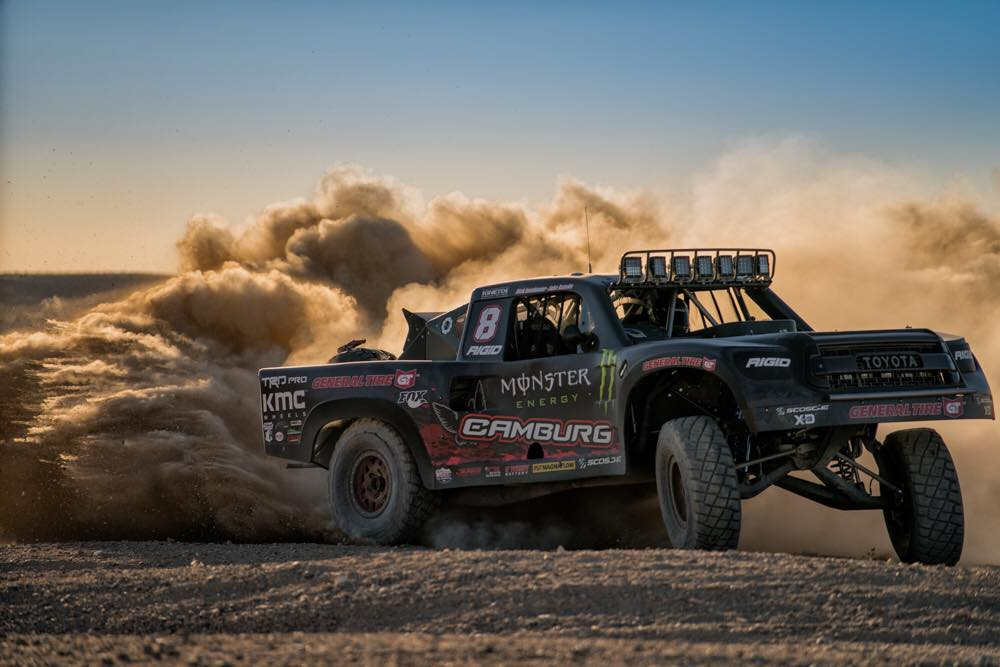 the art of the trophy truck jerry zaiden of camburg